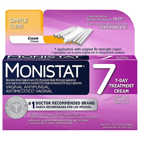 Monistat 7 Vaginal Antifungal Cream - 1 kit