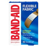 Band-Aid Flexible Fabric All One Size Adhesive Bandages 3/ 4 Inch