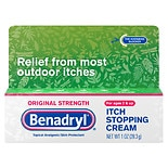 Benadryl Itch Stopping Gel, Original Strength