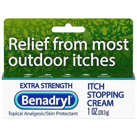Benadryl Itch Stopping Cream, Extra Strength - 1 oz.