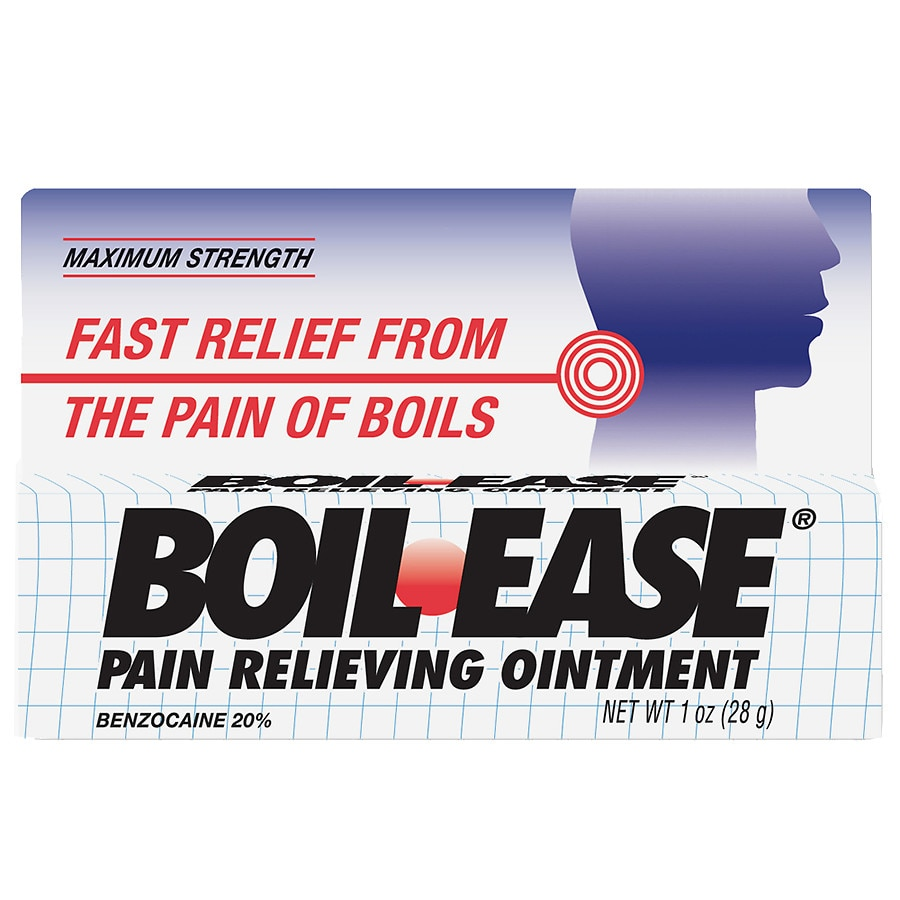 Boil Ease Pain Relieving Ointment Walgreens