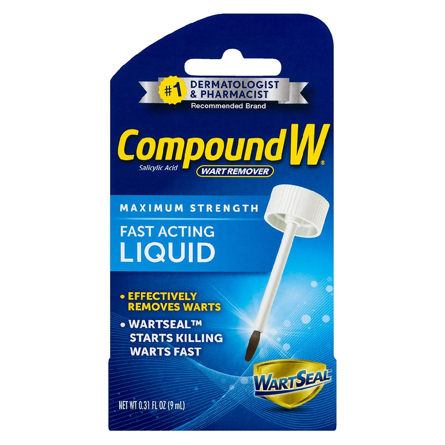 Compound W Fast Acting Liquid Salicylic Acid Wart Remover