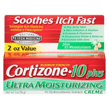 cortizone 10 maximum strength hydrocortisone anti itch cream plus 10 moisturizers walgreens. Black Bedroom Furniture Sets. Home Design Ideas
