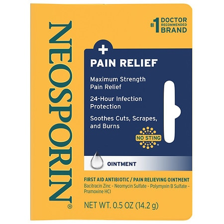 NEOSPORIN Original Ointment provides long-lasting infection protection and minimizes the appearance of scars. Neomycin sulfate, polymyxin B, and bacitracin zinc help prevent infection in .