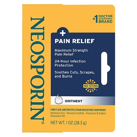 Neosporin + First Aid Antibiotic/Pain Relieving Ointment - 1 oz.