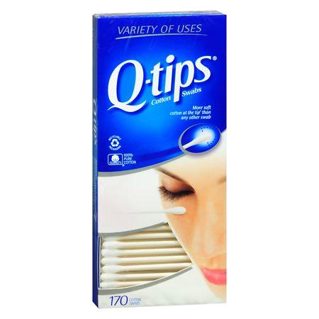 Q-tips Cotton Swabs - 170 ea