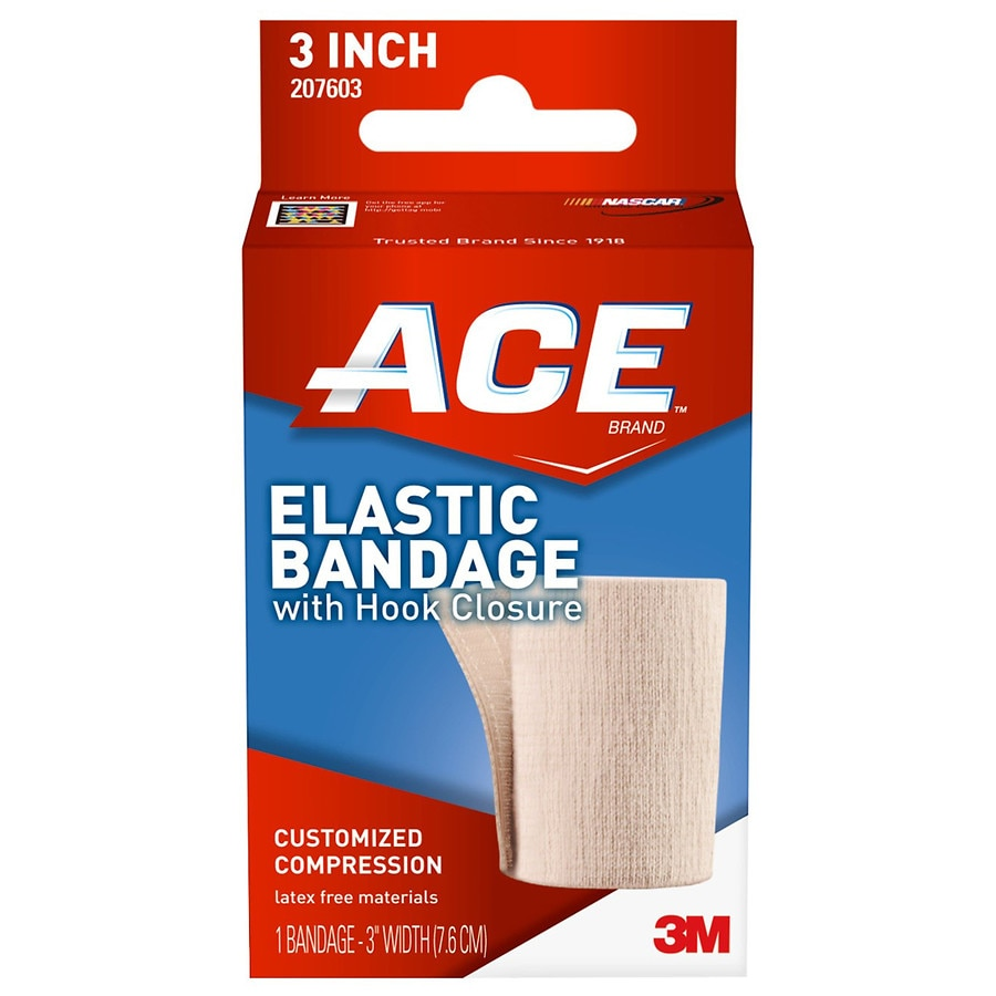 Ace Elastic Bandage With Hook Closure Model 207603 Walgreens