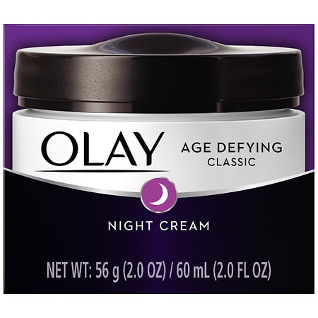 Olay Age Defying Night Face Cream, Classic