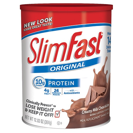 SlimFast Protein Shake Mix Creamy Milk Chocolate - 12.83 oz.