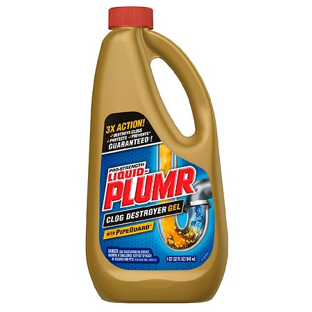 liquidplumr clog remover power gel