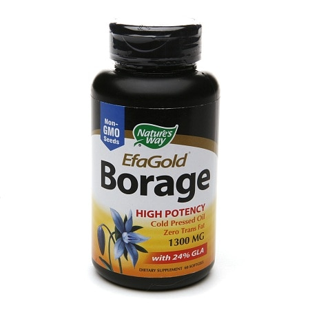 Nature's Way EFA Gold Borage, 1300mg, Softgels