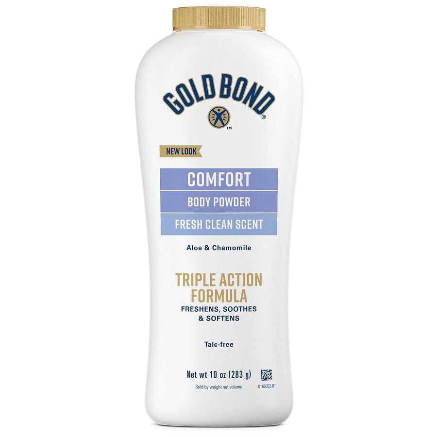 Gold Bond Ultimate Comfort Body Powder Fresh Clean Walgreens