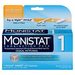 Monistat 1 Day or Night Combination Pack Vaginal Antifungal Treatment