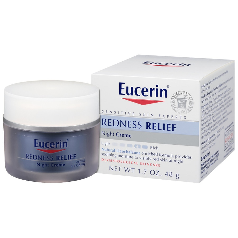 eucerin redness relief soothing night creme walgreens. Black Bedroom Furniture Sets. Home Design Ideas