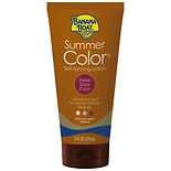 Banana Boat Sunless Summer Color Self Tanning Lotion, Deep Dark