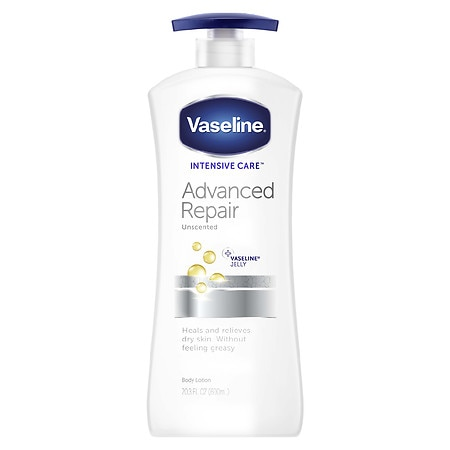 Vaseline Intensive Care Lotion Advanced Repair, Unscented
