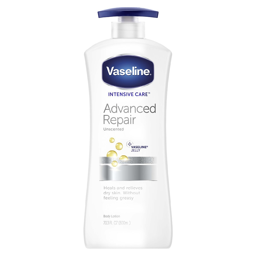 Vaseline Intensive Care Hand Body Lotion Unscented Walgreens