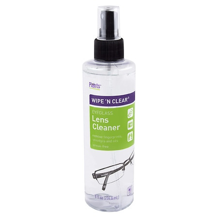 Flents Wipe 'N Clear Eyeglass Lens Cleaner - 8.0 fl oz