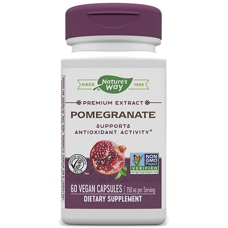 Nature's Way Pomegranate Standardized, Vcaps