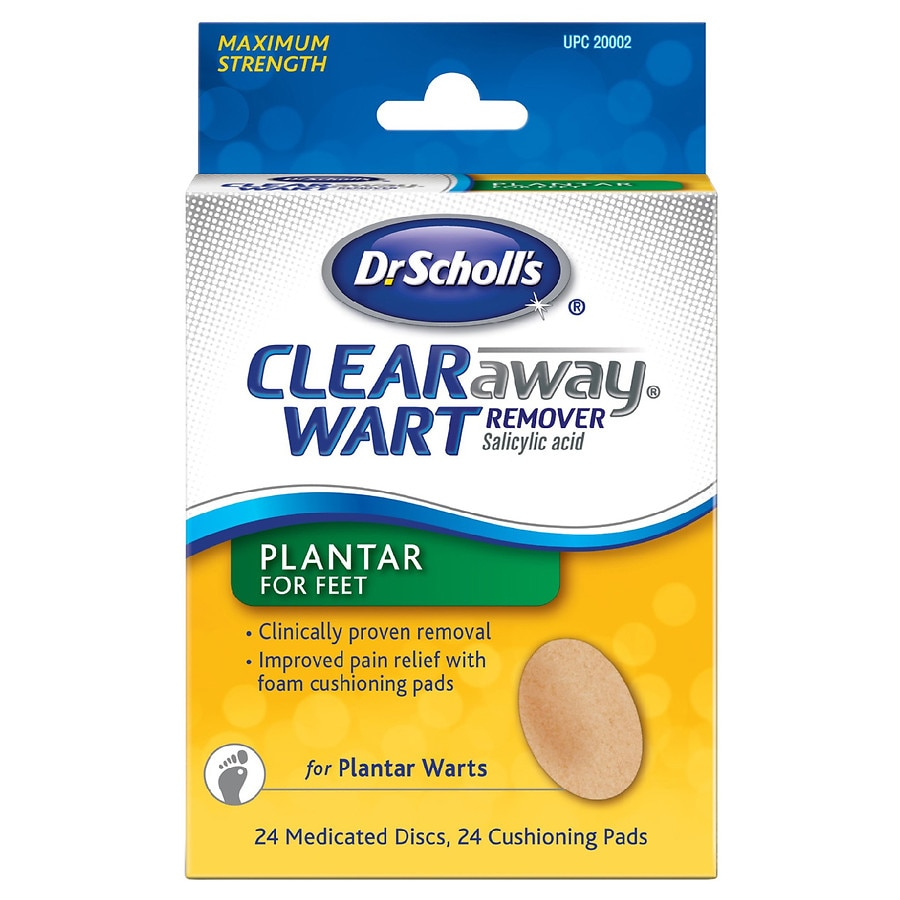 Dr  Scholl's Clear Away Plantar Wart Remover for Feet