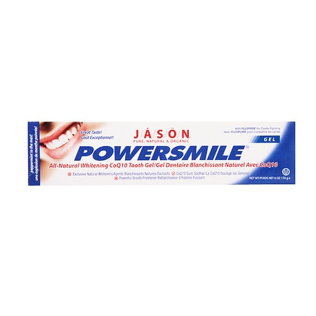 JASON Power Smile All Natural Whitening CoQ10 Tooth Gel