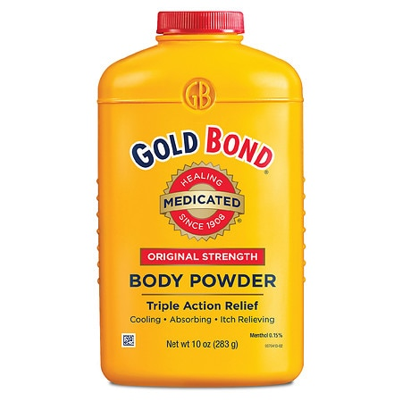 Gold Bond Original Strength Medicated Body Powder Triple Action Relief