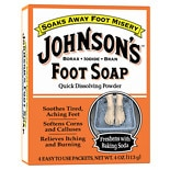 Johnson's Foot Soap Quick Dissolving Powder