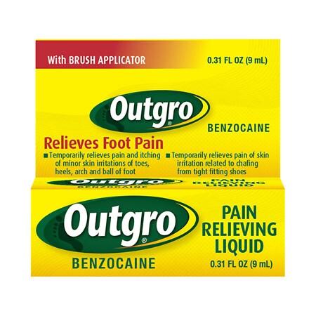 Outgro Pain Relieving Liquid - 0.31 fl oz