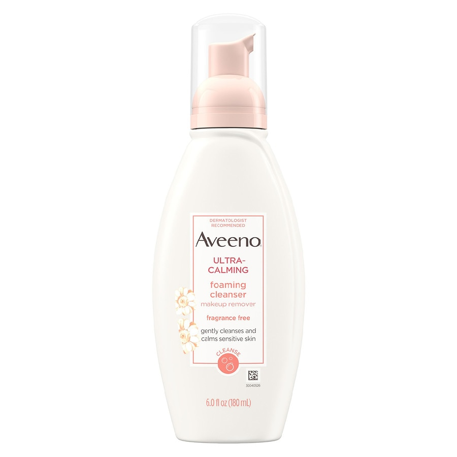 Aveeno foaming cleanser ultra-calming