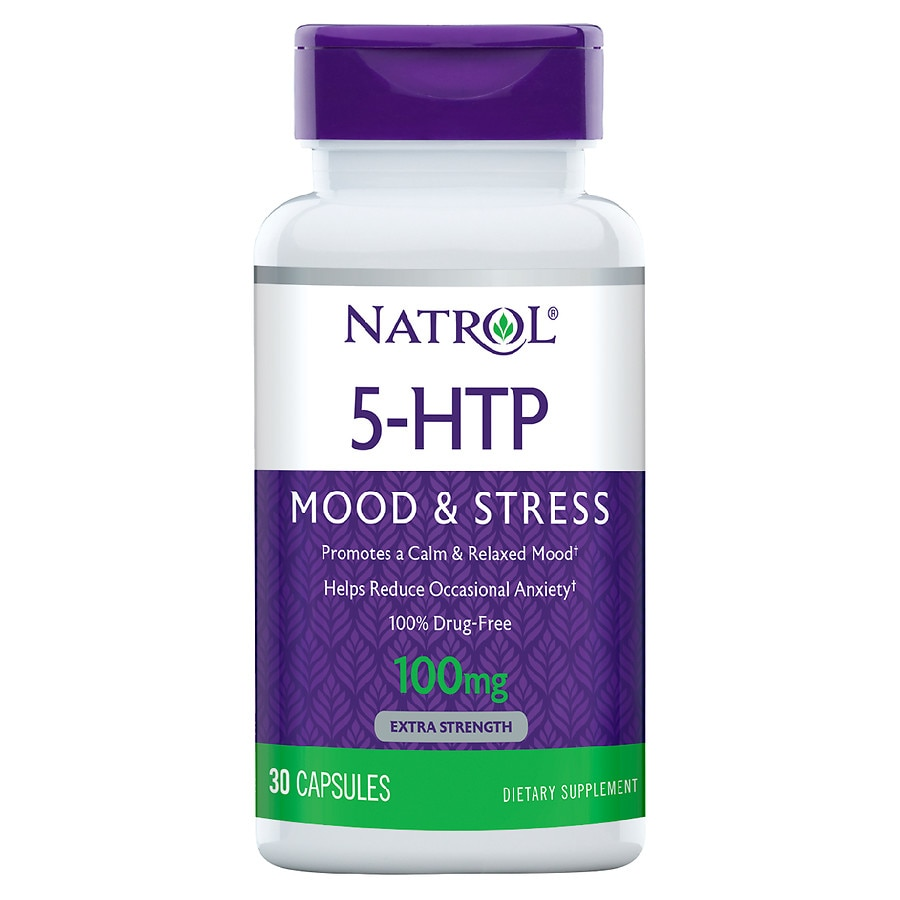 Natrol 5 Htp 100 Mg Double Strength Capsules Walgreens