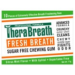TheraBreath Fresh Breath Xylitol Chewing Gum Mild Vanilla Mint