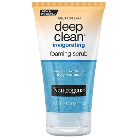 Neutrogena Deep Clean Invigorating Foaming Face Scrub - 4.2 fl oz