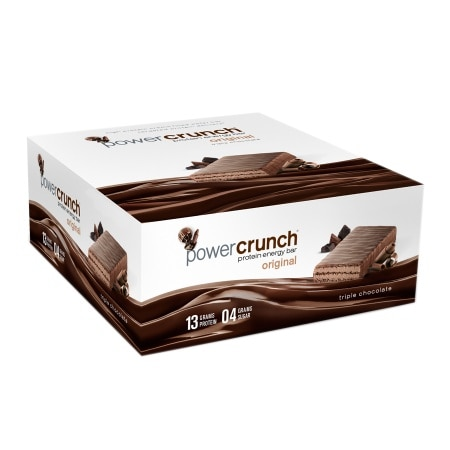 Power Crunch Protein Energy Bars 12 Pack Triple Chocolate, 12 pk