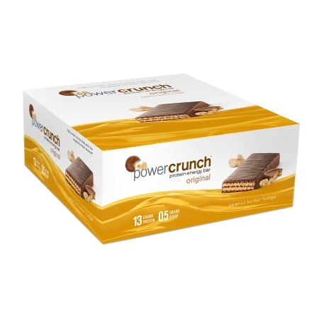 Power Crunch Protein Energy Bars Pack Peanut Butter Fudge, 12 pk