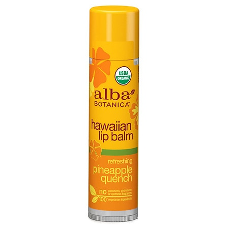 Alba Botanica Hawaiian Lip Balm Pineapple Quench