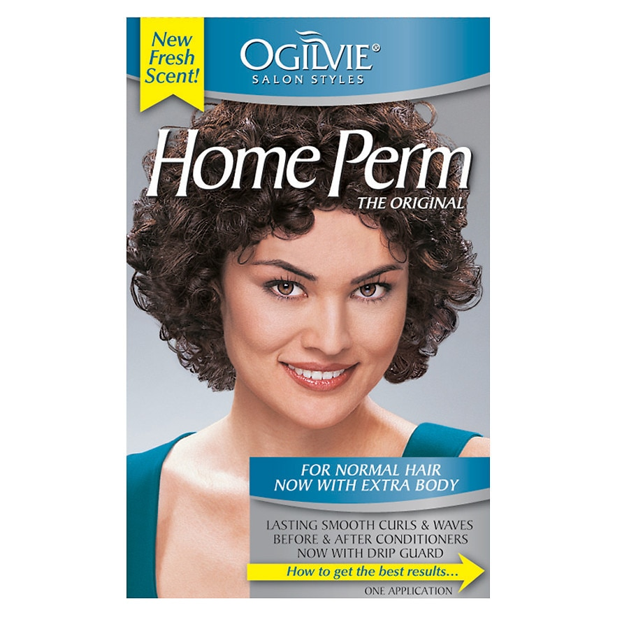 Ogilvie The Original Home Perm For Normal Hair Now With Extra Body