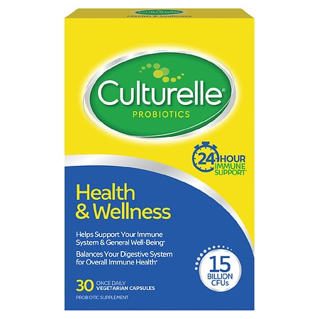 Culturelle Probiotic Health & Wellness Capsules