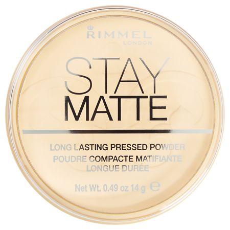 Rimmel Stay Matte Pressed Powder - 0.49 oz.