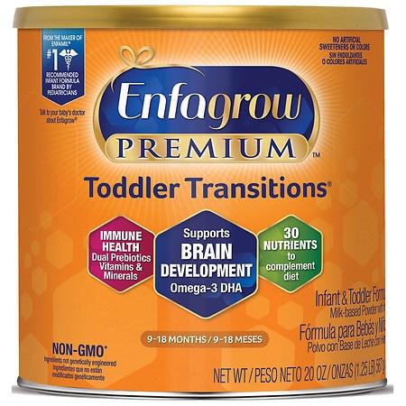 Enfagrow Premium Infant & Toddler Formula Makes 141 Ounces - 20 oz.