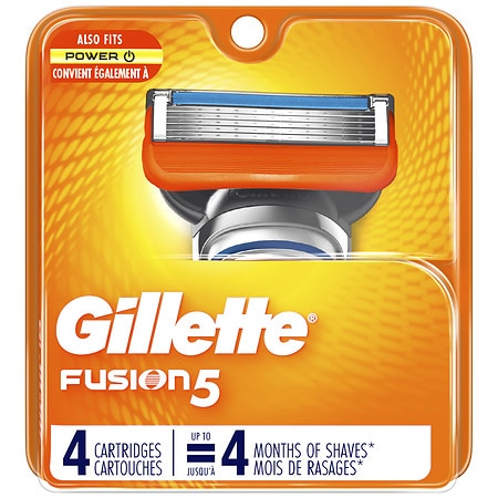 Gillette Fusion Power Razor, Refill Cartridges