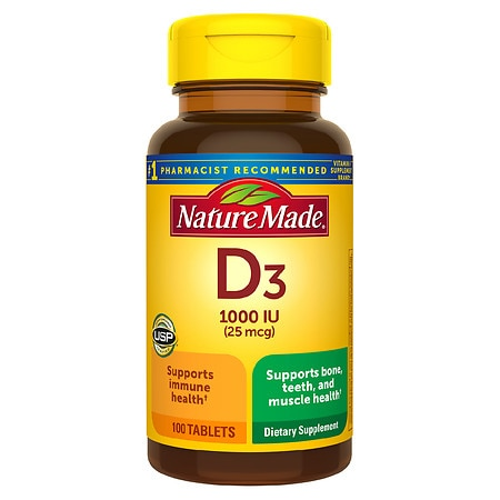 Nature Made Vitamin D 1000 I.U.