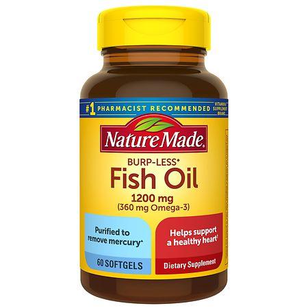 Nature Made Fish Oil 1200 mg - 60 ea
