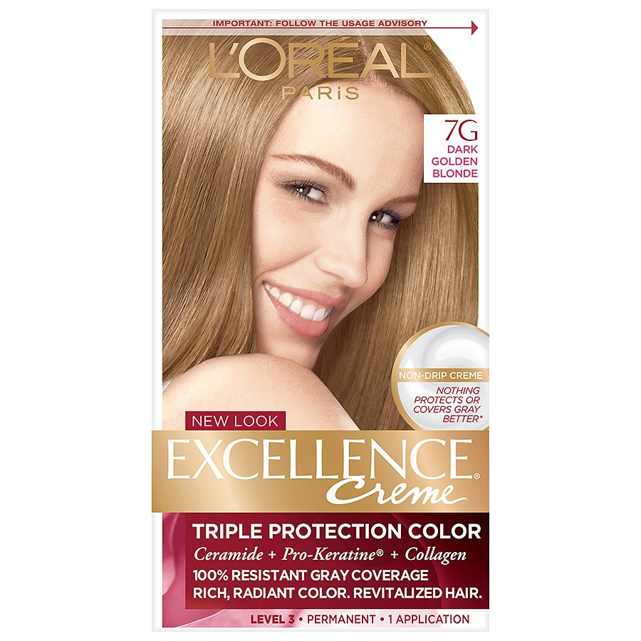 L Oreal Paris Excellence Creme Permanent Hair Color Dark Golden