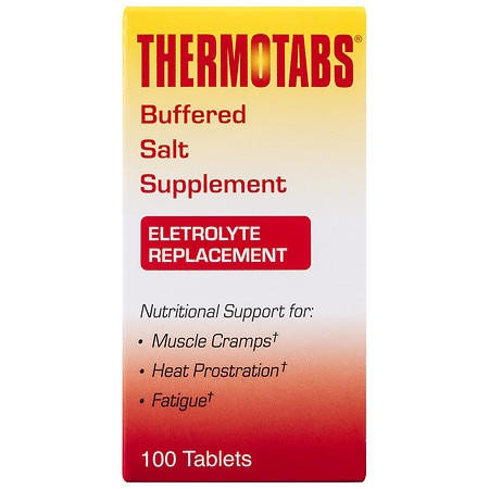 Thermotabs Salt Supplement Buffered Tablets - 100 ea