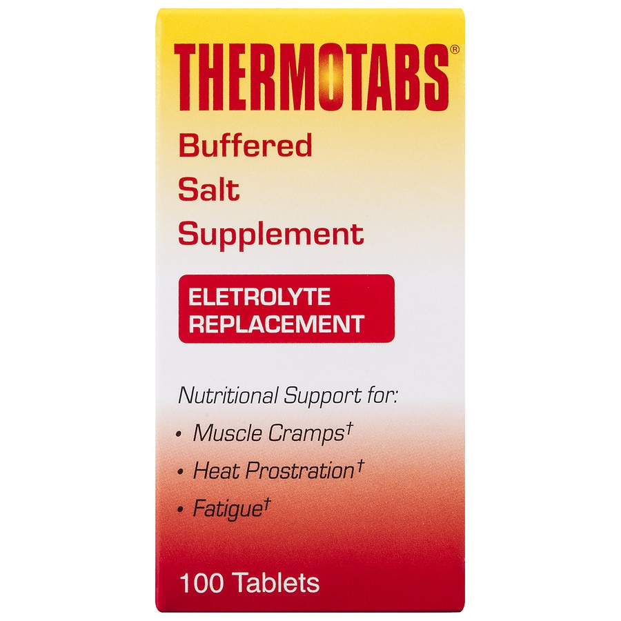 Thermotabs Salt Supplement Buffered Tablets Walgreens Equal Product Large Image