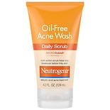 Neutrogena Oil-Free Acne Face Wash Daily Face Scrub