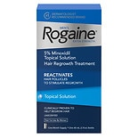 Rogaine Men's Extra Strength 5% Minoxidil Solution 1 Month Supply
