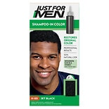 Just For Men Original Formula Shampoo-In Haircolor H-60 Jet Black
