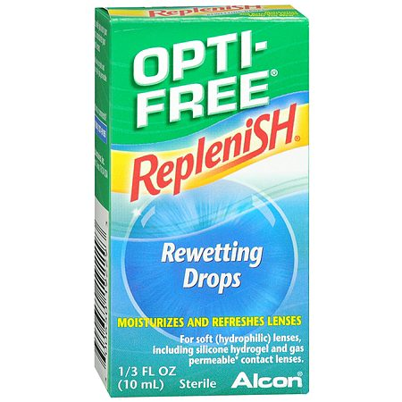Opti-Free RepleniSH Rewetting Drops - 0.33 fl oz