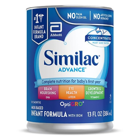 How to prepare similac advance